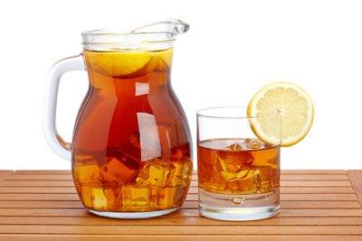 jak připravit domácí ledový čaj