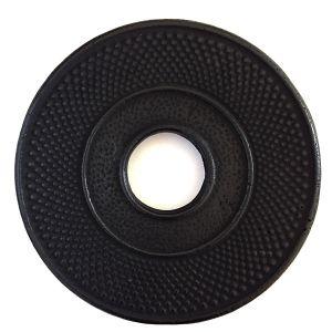 Liatinová podložka pod kanvicu - čierna